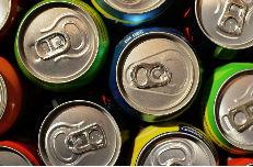 Reutilice las latas de bebidas